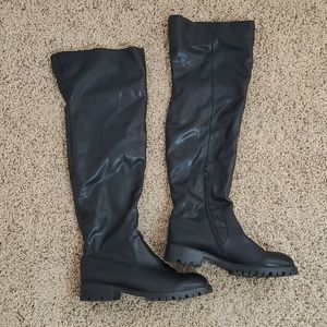 Jeffree Campbell Great Moments Over The Knee Boots